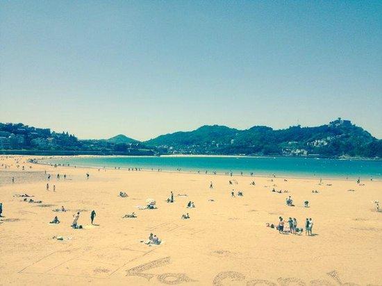 Playa de La Concha: San Sebastian beach