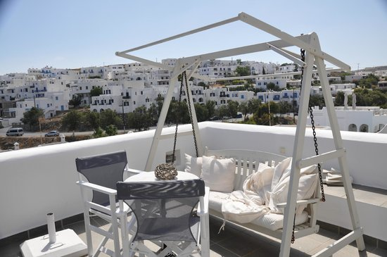 Alexandros Studio Apartments: patio