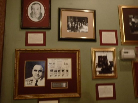 Tunnels of Moose Jaw : Photographs - Al Capone below