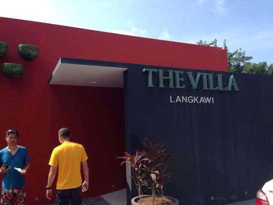 The Villa Langkawi: Main entrance of the hotel