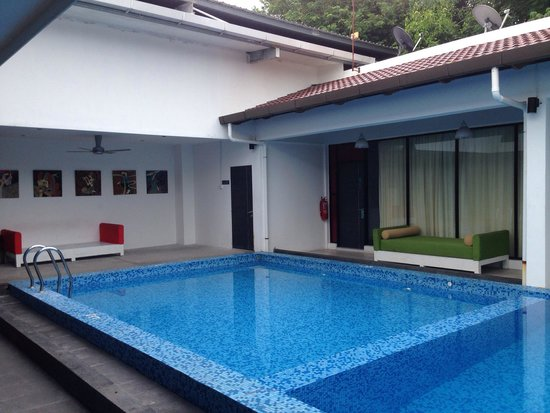 The Villa Langkawi: Kiddy pool area