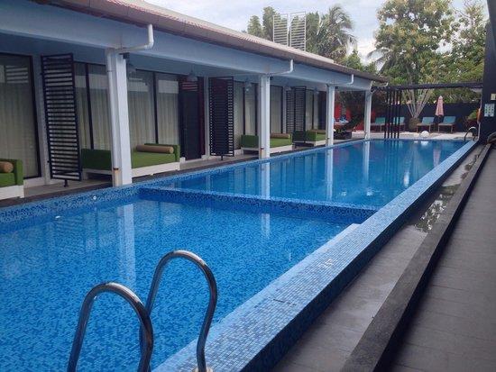 The Villa Langkawi: Pool area