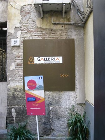 Galleria Borbonica : Outside one of the entrances to the tunnels