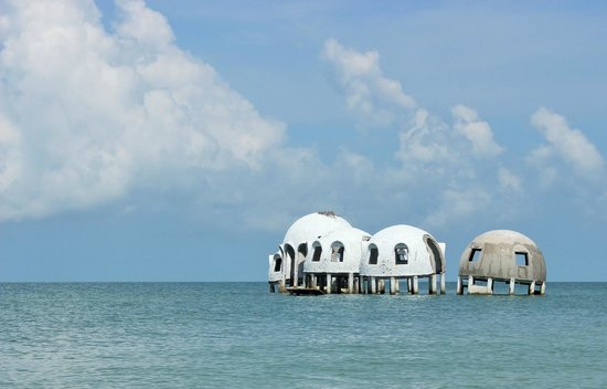 Island Gypsy Excursions: Dome Houses Marching to the Sea.