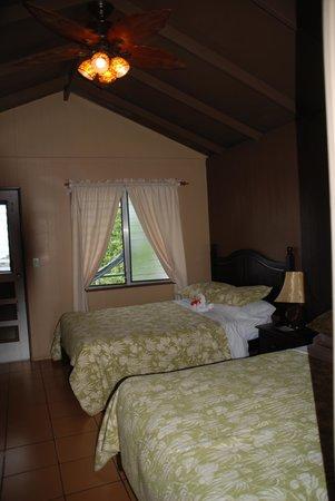 Juliana's Hotel : Kamer met zeezicht.
