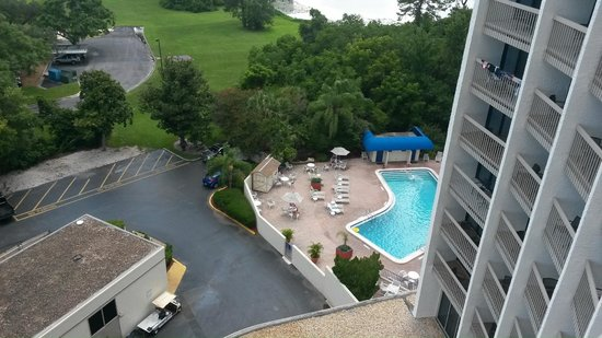 Best Western Lake Buena Vista Disney Springs Resort Area Pool View From The Balcony