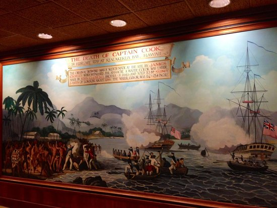 The Hotel Captain Cook: Captain Cook painting