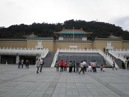 National Palace Museum: 外観1