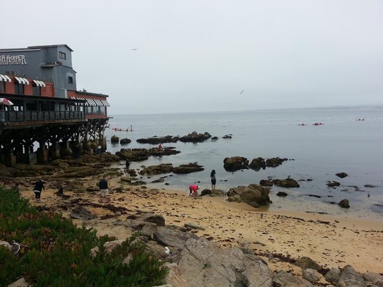 One view along Cannery Row