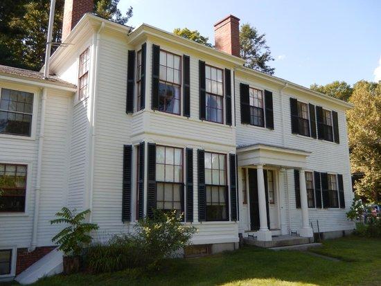 Ralph Waldo Emerson House : R W Emerson Home East Side 8/8/2014