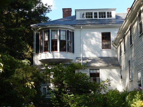 Ralph Waldo Emerson House : R W Emerson House South Side 8/8/2014