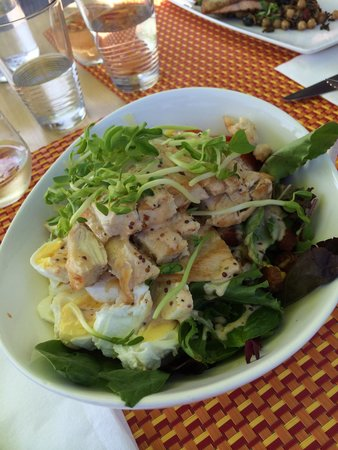 The Good Earth Food and Wine Co.: Cobb Salad.  Nicely done.