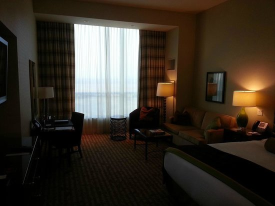 Thunder Valley Casino Resort: Bedroom lighting.