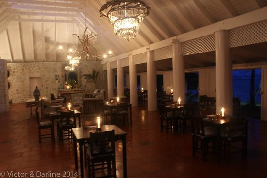 Sugar Reef Bequia: The dining hall