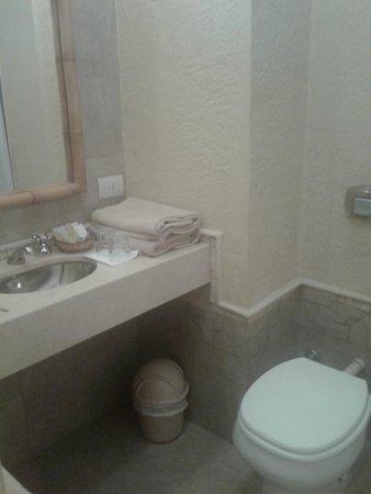 Raices Esturion Hotel: El baño