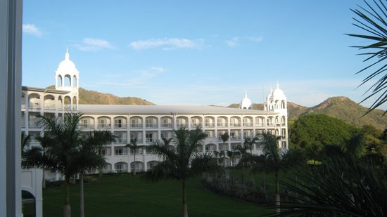 Hotel Riu Palace Costa Rica: View From 2nd Story Balcony