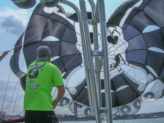 Traverse Bay Parasail LLC: The sail