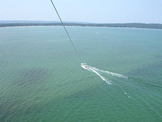 Traverse Bay Parasail LLC: The view