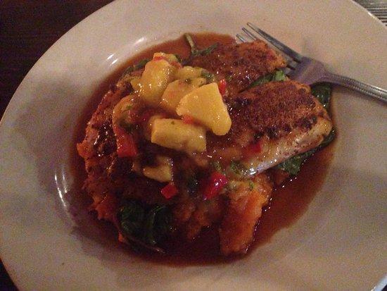 620 State Restaurant: Blackened tilapia