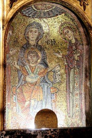 Basilica Di Santa Prassede: Mosaic at Sta. Prassede