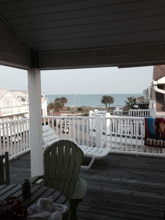 Ocean Lakes Family Campground : View from upper deck of #1007