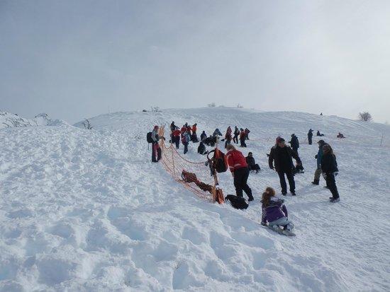 Cerro Catedral Ski Resort: Sector peatones Amancay -  La Roca