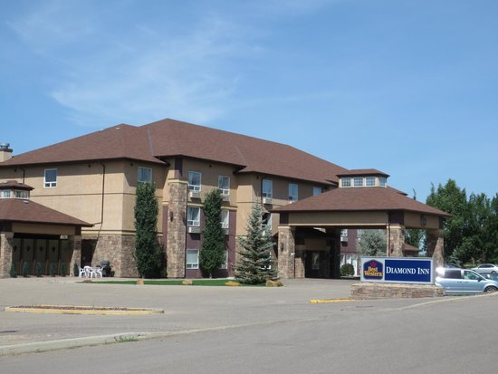 Best Western Diamond Inn : view of hotel from north