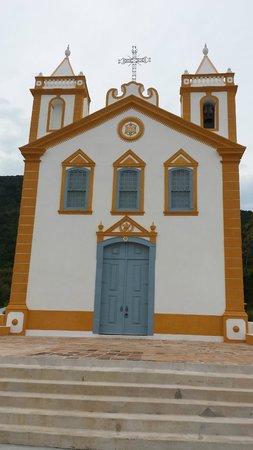 Ribeirao da Ilha: Igreja do Ribeirão da Ilha, uma das mais antigas e, recentemente restaurada
