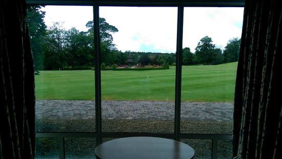 Slieve Russell Hotel Golf and Country Club: our view from room 443