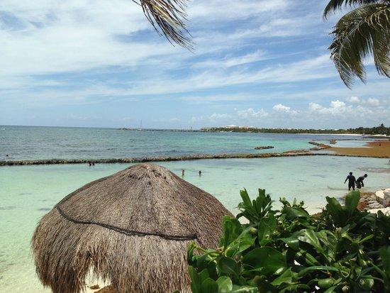 Omni Puerto Aventuras Hotel Beach Resort: Pool side at the Omni Beach Resort