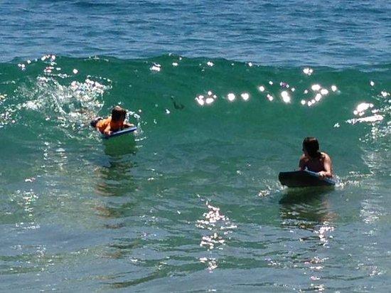 Art Hotel - Laguna Beach: Boogie boarding was excellent