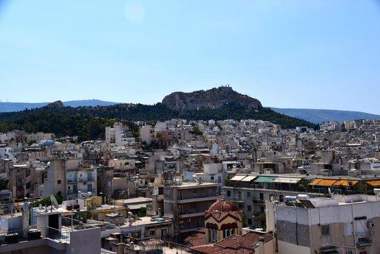 Radisson Blu Park Hotel Athens: Roof-top Views