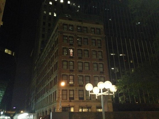 Eurostars Wall Street: Hotel view from outside