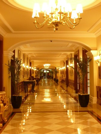 The Imperial Hotel: The Imperial Hallway