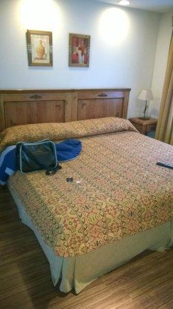 Hostal Del Bosque Apart Hotel: cama