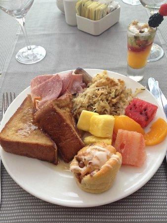 Pueblo Bonito Pacifica Golf & Spa Resort : Food from breakfast buffet