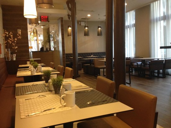 Eurostars Wall Street: Breakfast area