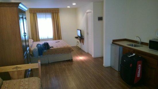Hostal Del Bosque Apart Hotel: habitacion