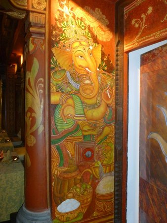 The Imperial Hotel : Ganesha at The Spice Route
