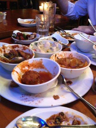 Dimitri's: so much food