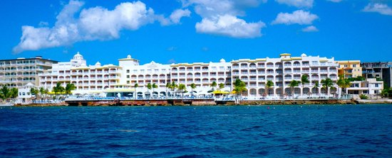 Cozumel Palace: View from water