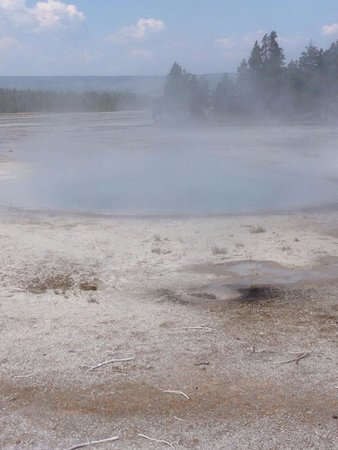 Midway Geyser Basin: First one you come across.