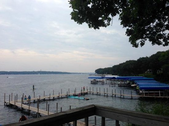 Village West Resort - West Lake Okoboji: The view from The Boat House