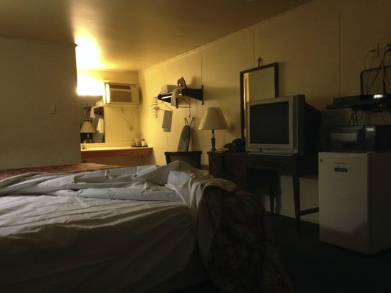 Sunset Valley Motel: Disgusting room