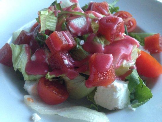 Hotel Terradets: Menú Especial Smartbox: Ensalada de queso fresco