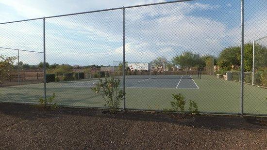Cibola Vista: Tennis Court