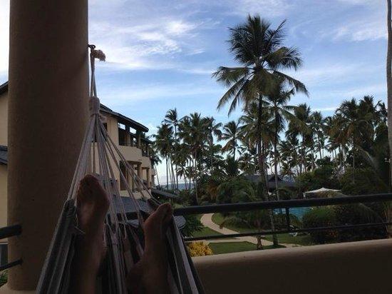 Hotel Alisei: our balcony