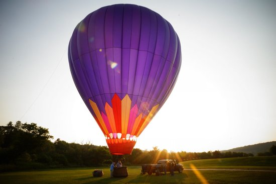 Balloons Over New England - Private Flights: Our balloon