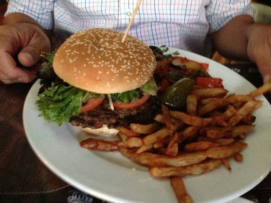 Papy  resto pub : The Bison Burger