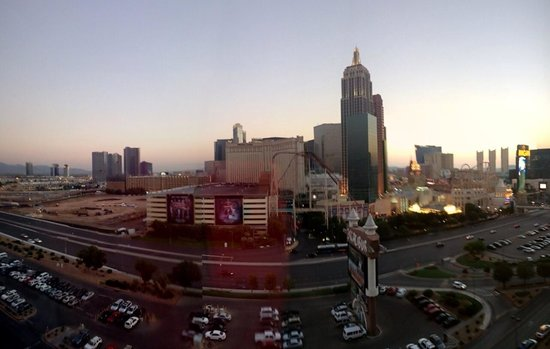 Excalibur Hotel & Casino: View from room 15233
